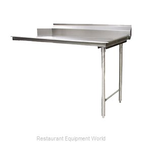 Eagle CDTR-72-14/3 Dishtable, Clean Straight