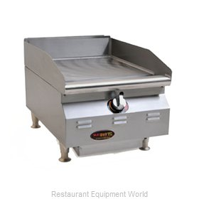 Eagle CLAGGDT-15-NG-X Griddle, Gas, Countertop