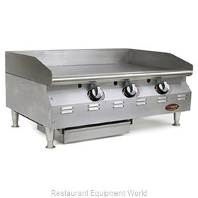 Eagle CLAGGDT-24-NG-X Griddle, Gas, Countertop