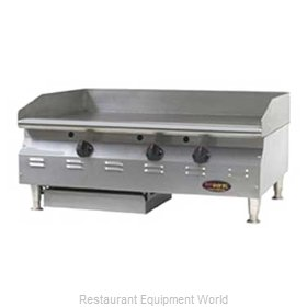 Eagle CLAGGHT-48-NG Griddle Counter Unit Gas