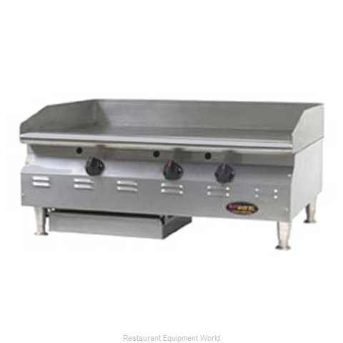 Eagle CLAGGHTS-48-NG Griddle Counter Unit Gas