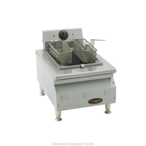 Eagle CLEF10-120 Fryer, Electric, Countertop, Full Pot