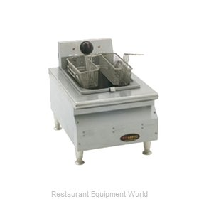 Eagle CLEF10-240-X Fryer, Electric, Countertop, Full Pot