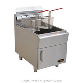 Eagle CLGF30-NG Fryer, Gas, Countertop Full Pot