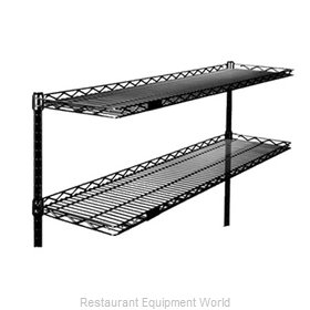 Eagle CS1224-BL Shelving, Wire Cantilevered