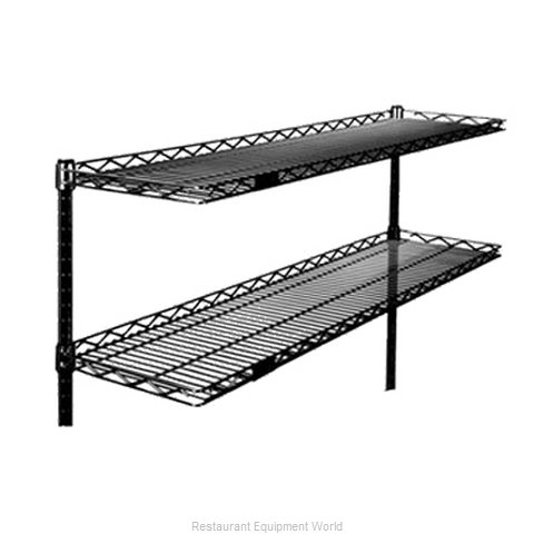 Eagle CS1254-BL Shelving, Wire Cantilevered