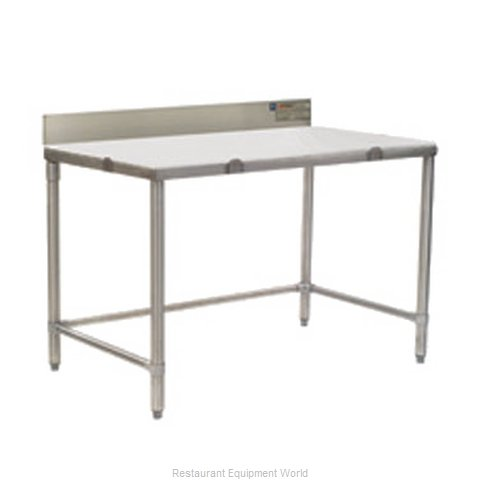 Eagle CT2436S-BS-X Work Table, Poly Top