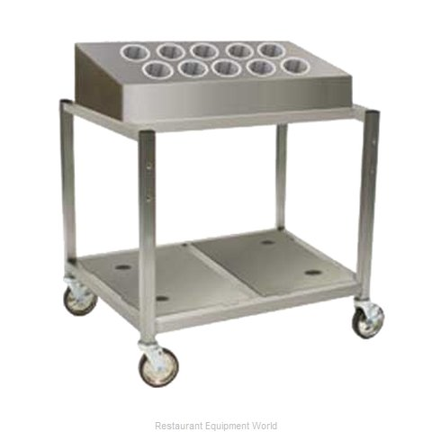 Eagle DCS2-TPU Flatware & Tray Cart