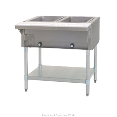 Eagle DHT2-208-2X Serving Counter Hot Food Steam Table Electric