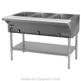 Eagle DHT3-120-1X Serving Counter Hot Food Steam Table Electric