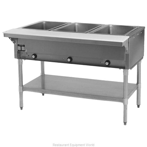 Eagle DHT3-120-2X Serving Counter Hot Food Steam Table Electric