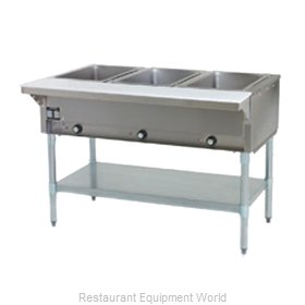 Eagle DHT3-208-1X Serving Counter Hot Food Steam Table Electric