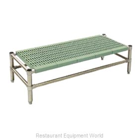 Eagle DR-L1832PSM Dunnage Rack, Louvered Slotted