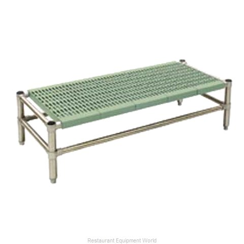 Eagle DR-L2332PSM Dunnage Rack, Louvered Slotted
