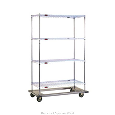 Eagle DT2448-ZSBP Shelving Unit on Dolly Truck (Magnified)