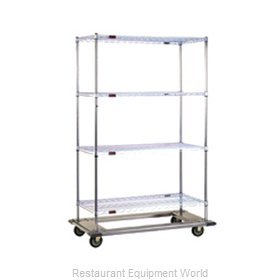 Eagle DT2460-ZSB Shelving Unit on Dolly Truck