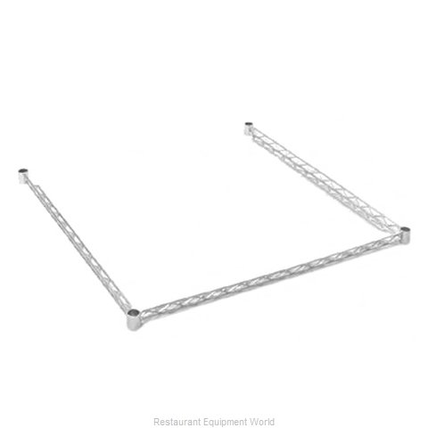 Eagle DTF3672-E Shelving, 3-Sided Frame (Magnified)