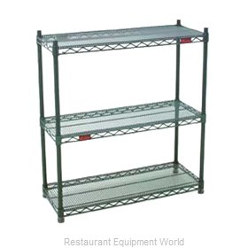 Eagle DWS4-63-1860VG Shelving Unit, Wire