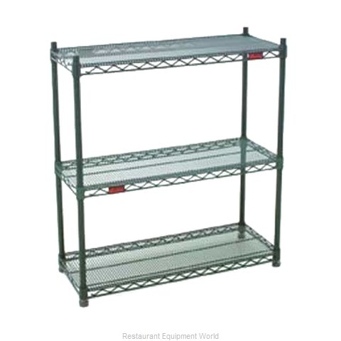 Eagle DWS4-74-1848Z Shelving Unit, Wire (Magnified)