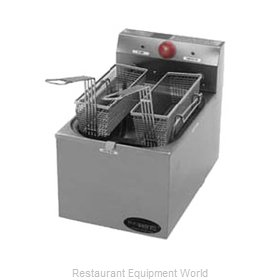 Eagle EF10-240-X Fryer Counter Unit Electric Full Pot