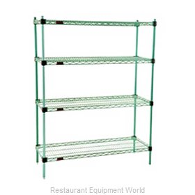 Eagle F2QA2-74-2436E-X Shelving Unit, Wire