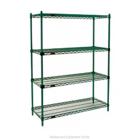 Eagle F2QA2-74-2436VG Shelving Unit, Wire (Magnified)