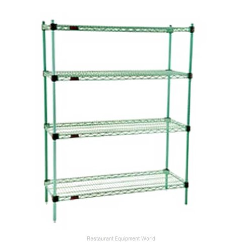 Eagle F2QA2-74-2448E Shelving Unit, Wire
