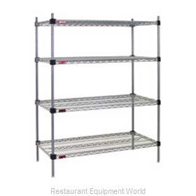 Eagle F2QA2-74-2448V Shelving Unit, Wire