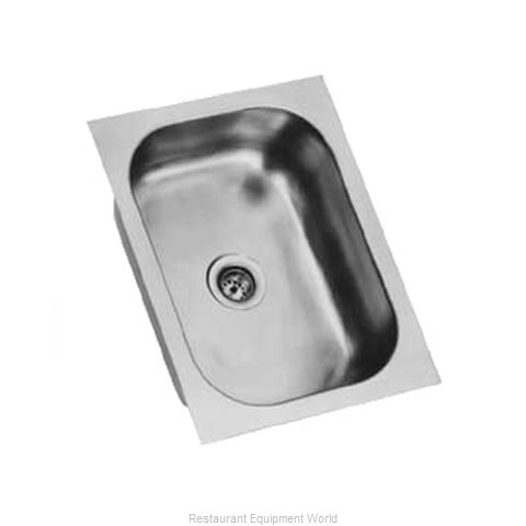 Eagle FDI-10-14-5-1 Sink Bowl, Weld-In / Undermount (Magnified)