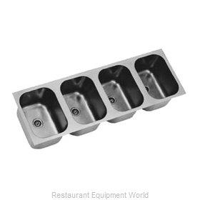 Eagle FDI-10-14-9.5-4 Sink Bowl Weld-In
