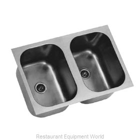 Eagle FDI-16-19-8-2 Sink Bowl, Weld-In / Undermount