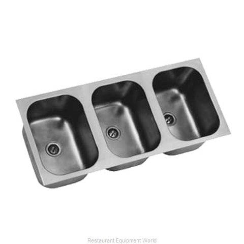 Eagle FDI-24-24-13.5-3 Sink Bowl Weld-In