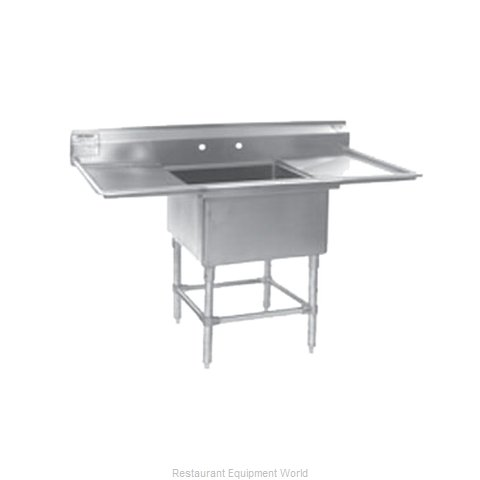 Eagle FN2424-1-24R14/3 Sink, (1) One Compartment