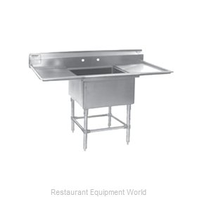 Eagle FN2424-1-36R-14/3 Sink, (1) One Compartment