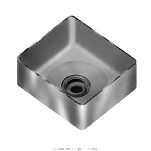 Eagle FNWNF-12-14-8-1 Sink Bowl, Weld-In / Undermount (Magnified)