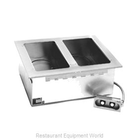 Eagle GDI-2-208 Hot Food Well Unit, Drop-In, Electric