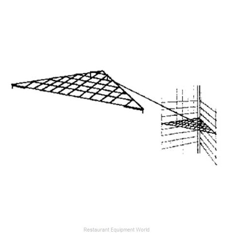 Eagle GPS24-C Shelving Wall Grid Accessories