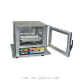 Eagle HCHNLSI-RC2.25 Heated Holding Cabinet Mobile Half-Height