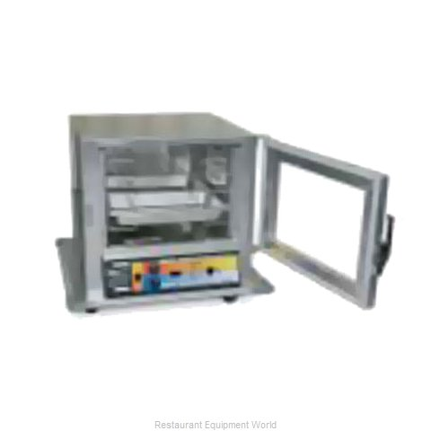 Eagle HCHNLSN-RC2.25 Heated Holding Cabinet Mobile Half-Height