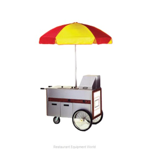 Eagle HDC48-120NYF Hot Food Merchandising Cart
