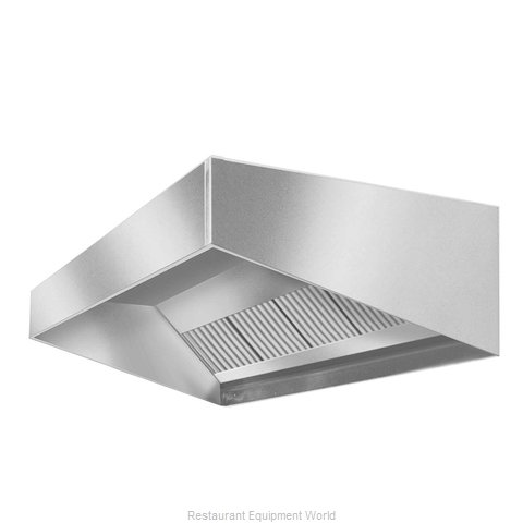 Eagle HES96-48 Exhaust Hood (Magnified)
