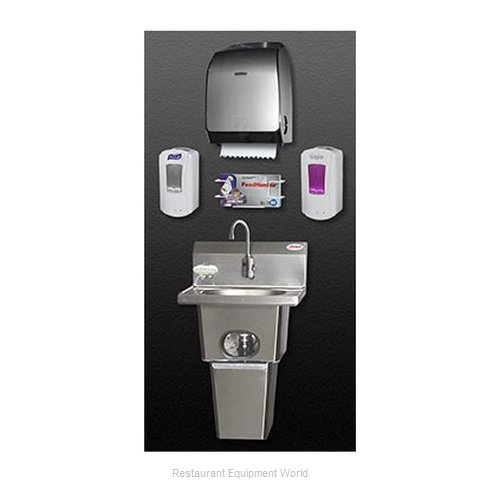 Eagle HFL-5000-LRS Handwashing System (Magnified)