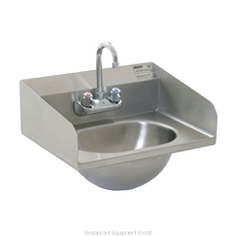 Eagle HSA-10-F-LRS-1X Sink, Hand (Magnified)