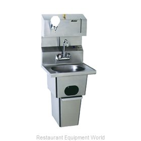 Eagle HSA-10-FDP-T-1X Sink, Hand
