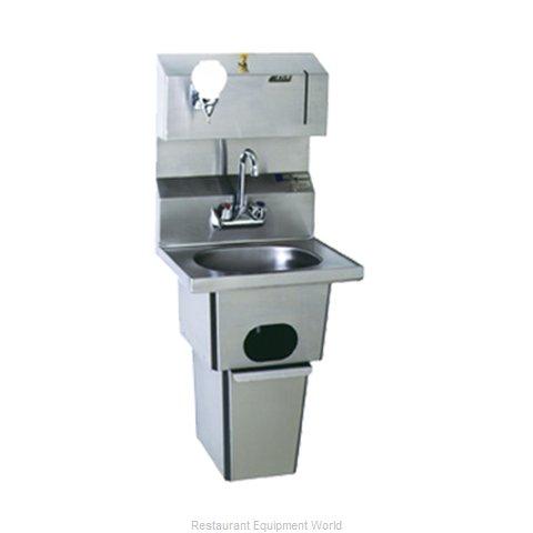 Eagle HSA-10-FDP-T-2X Sink, Hand (Magnified)