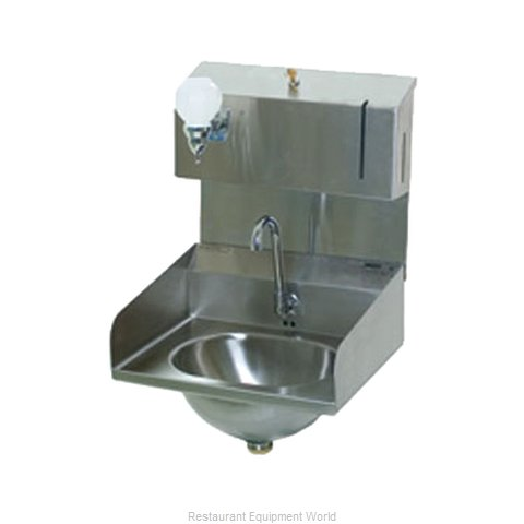 Eagle HSA-10-FDPE-LRS-1X Sink, Hand