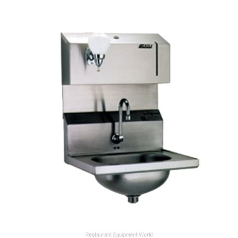 Eagle HSA-10-FDPE Sink, Hand (Magnified)