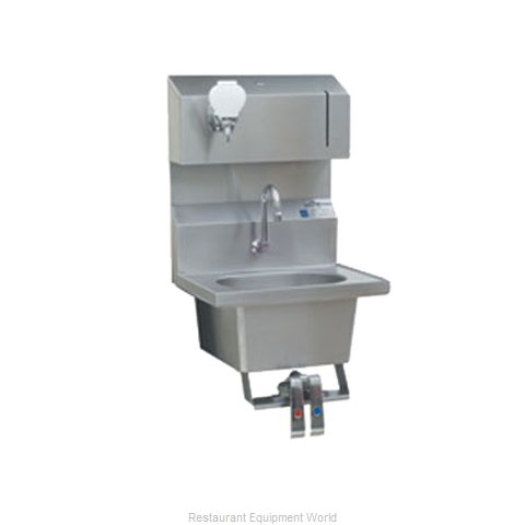 Eagle HSA-10-FDPK Sink Hand (Magnified)