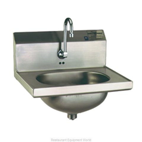 Eagle HSA-10-FE-2X Sink, Hand (Magnified)