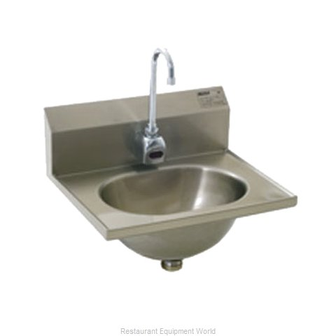 Eagle HSA-10-FE-B-1X Sink, Hand (Magnified)